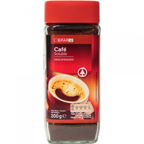 Spar kawa rozpuszczalna bezkofeinowa
