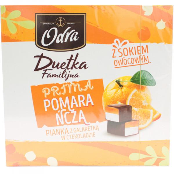 Galaretki odra duetka familijna rebranding smak pomarańczowy