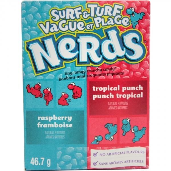 Cukierki nerds malina-topical punch