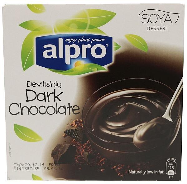 Deser Alpro czekolada gorzka 4*125g
