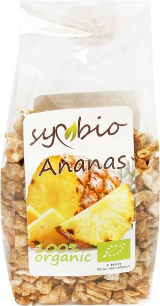Ananas suszony kostka eko Symbio