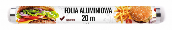 Spar folia aluminiowa 20m rolka