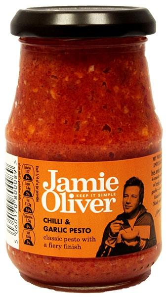 Pesto z chili i czosnku Jamie Oliver