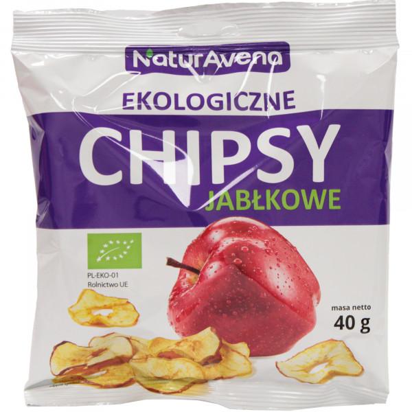 Chipsy jabłkowe bio/40g